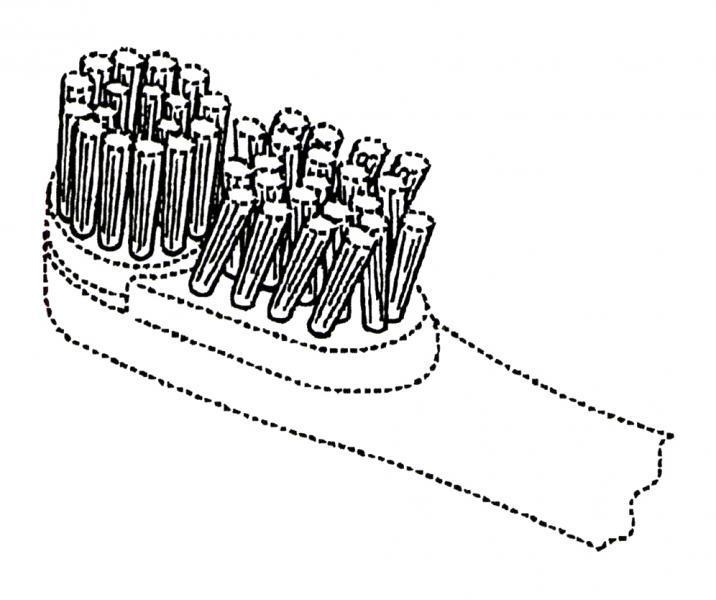 LA ROPA Y CEPILLOS PARA EL CALZADO / Cerdas para cepillos de dientes