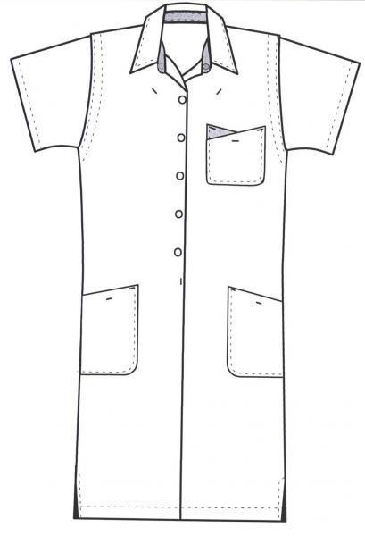 Ropa de trabajo Uniformes Prendas de vestir de enfermera