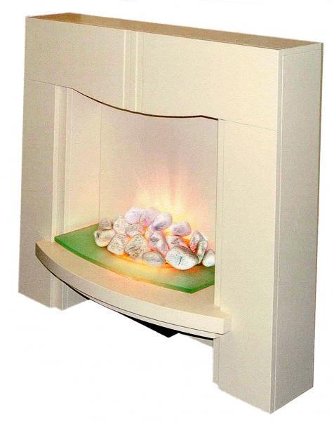 Chimeneas artificiales con fuego el ctrico hogar y - Chimeneas artificiales ...