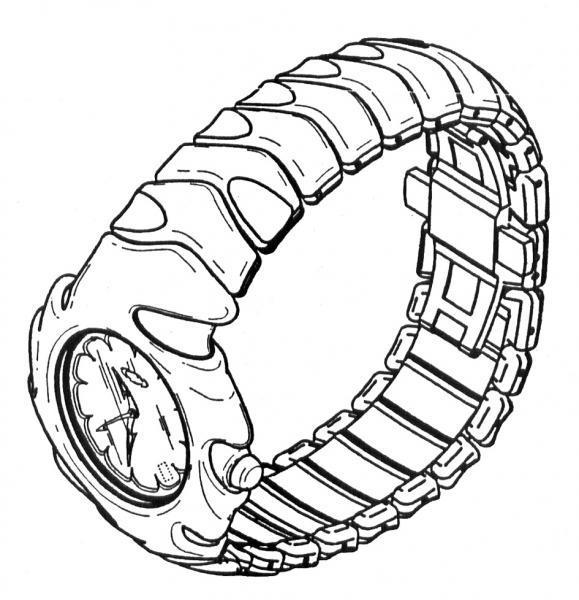 Dibujo reloj pulsera - Imagui