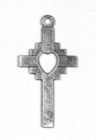 ... Objetos de adorno / BISUTERÍA Y JOYERÍA / Colgante en forma de cruz