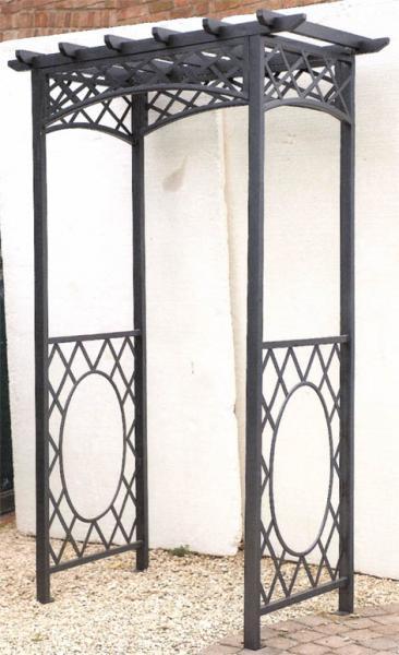 Arcos adornos para jardines v2 for Arcos para jardin