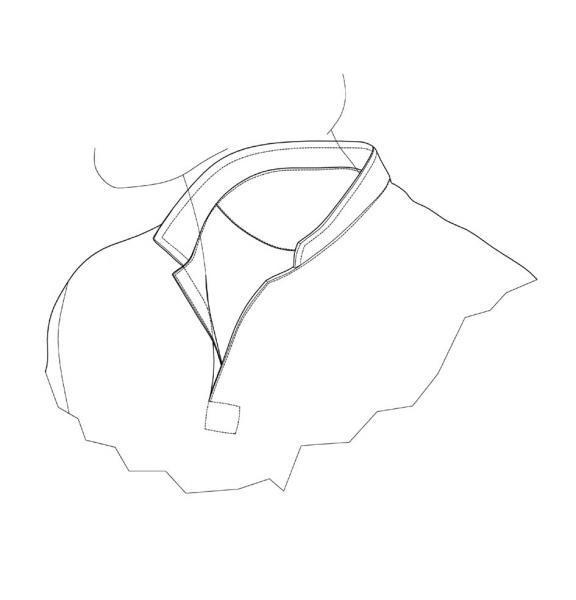 Artículos de vestir y mercería / VESTIDOS / Cuellos para camisetas