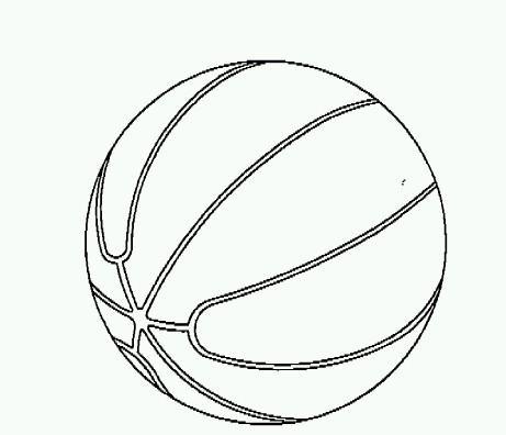 Balones de baloncesto dibujo - Imagui