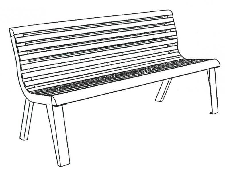 Dibujo banco imagui - Fotos de bancos para sentarse ...