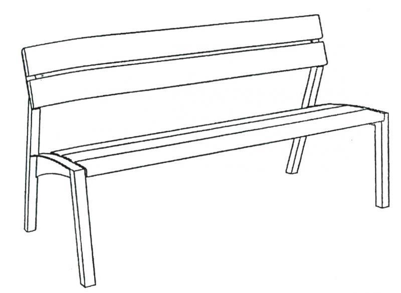 Dibujo de bancas imagui for Sillas para dibujar facil