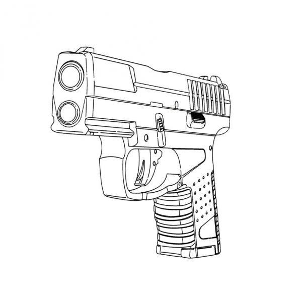 Armas De Fuego Para Dibujar