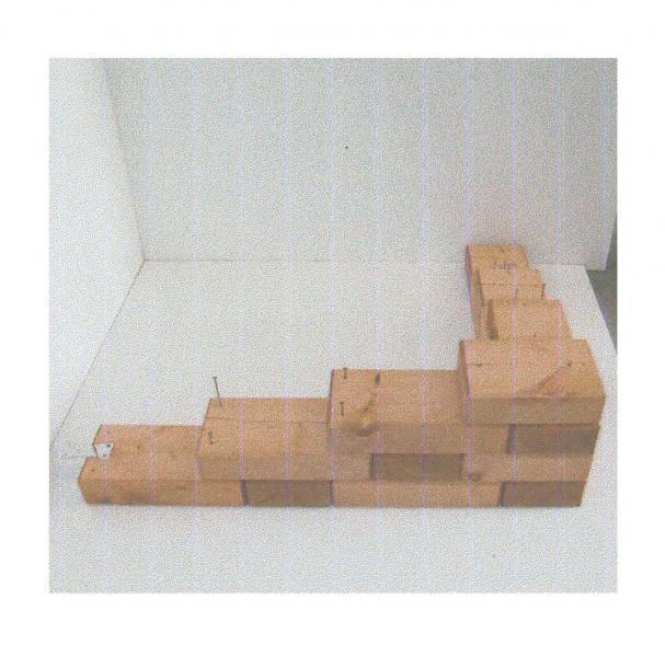Bloques para hacer paredes de madera