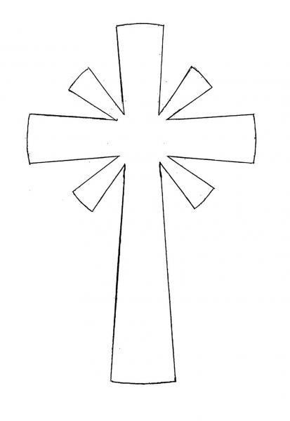 Cruces Colorear Imagui