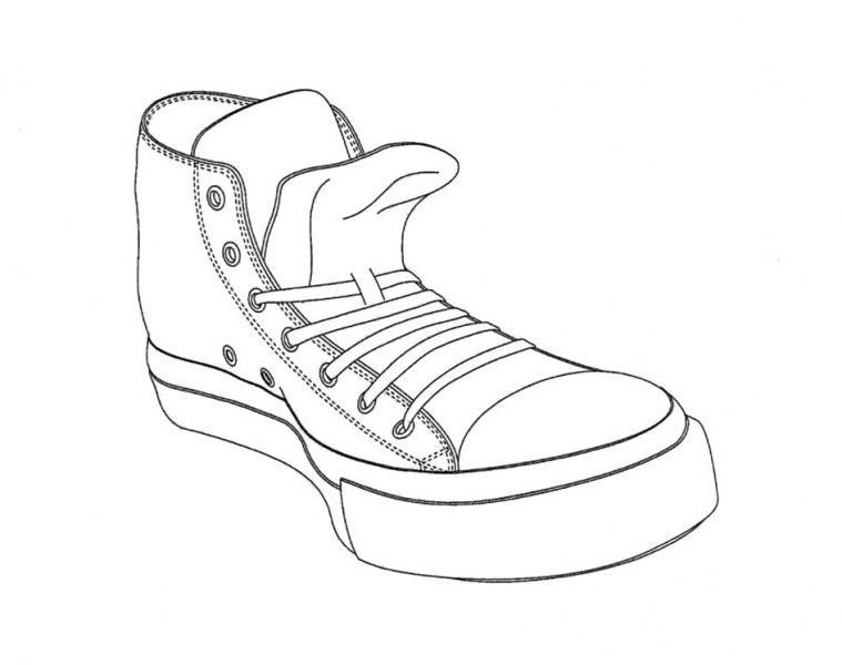Zapatos Converse Para Dibujar fundegue.es