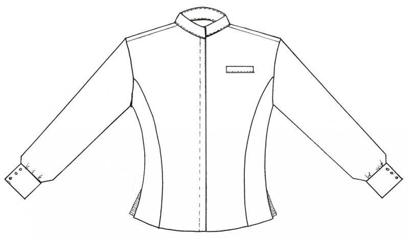 Dibujo de una chaqueta imagui - Dibujos de cocineros para colorear ...
