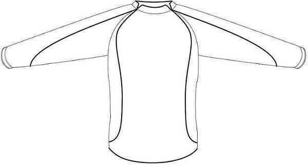 Prendas deportivas camisetas de f tbol v2 - Dibujos para pintar camisetas infantiles ...