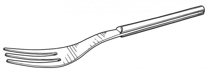 Tenedor Para Dibujar