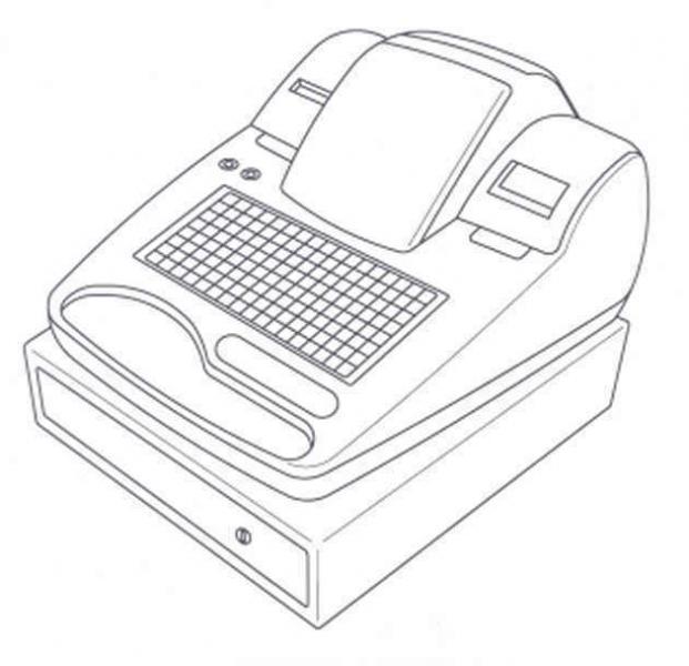 Caja registradora para dibujar - Imagui