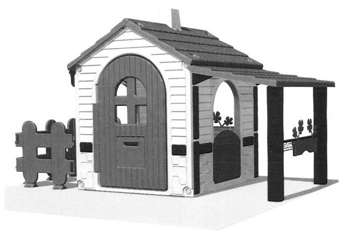 Casas de juguete v2 - Casa de juguetes para jardin ...