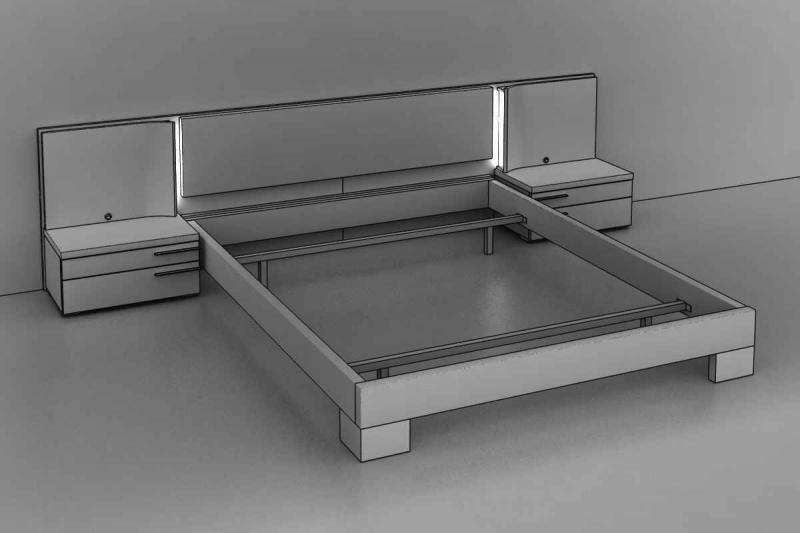 Muebles cama modernos 20170902111613 - Cabezales de cama de madera ...