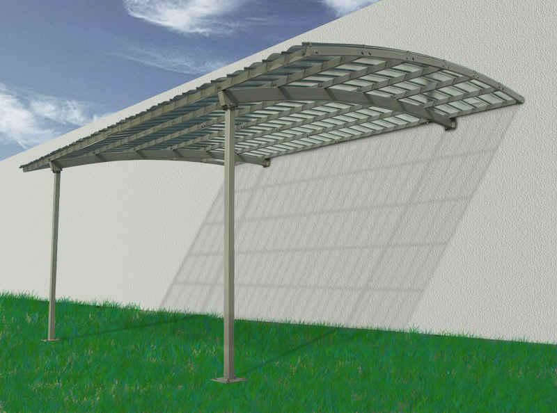Cobertizos para coches v2 for Casas con cobertizos